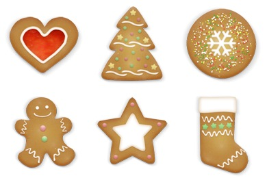 Christmas Cookies Icons
