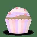 Cupcake cake icon