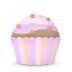 Cupcake-cake icon