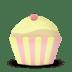 Cupcake-cake-vanilla icon