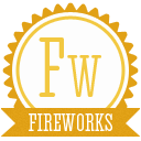 B fireworks icon