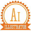 B illustrator icon