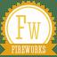 B fireworks icon