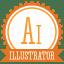 B illustrator icon