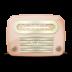 Vintage-radio-05-orange icon