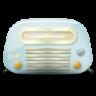 Vintage-radio-01-blue icon