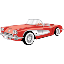 Car Chevrolet Corvette Cabriolet icon