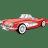 Car-Chevrolet-Corvette-Cabriolet icon