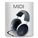 File Types MIDI icon