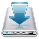 Drives Downloads icon