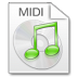 Mimetypes-midi icon