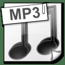 File Types mp 3 icon