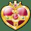 Cosmic heart compact icon