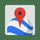 Enterprise earth maps icon