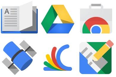 Google JFK Icons