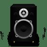 Speaker-Black-Plastic icon