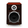 Speaker-Red-Wood icon