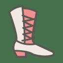 Cowboy boot icon