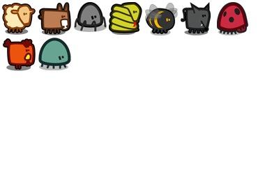 Zootetragonoides 2 Icons