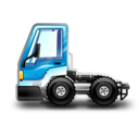 City Truck blue icon