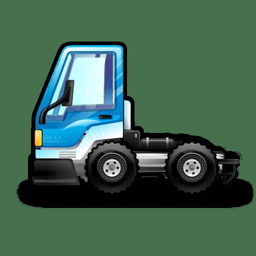 City-Truck-blue icon