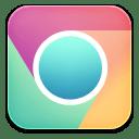 Chrome playcolours icon