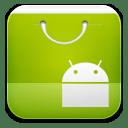 Market ics green icon