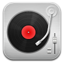 Music Record Player Red icon