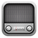 Radio metal icon