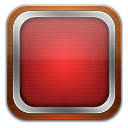 Tv red icon