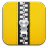 Zip yellow icon