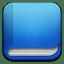 Book-blue icon