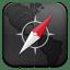 Safari-rings-black icon