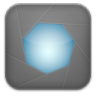 Aperture-grey icon