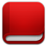 Book-red icon
