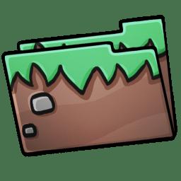 Folder Grass icon