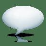 Bubble-plastic icon