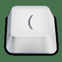 Bracket open icon