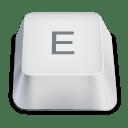 Letter uppercase E icon