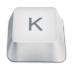 Letter-uppercase-K icon