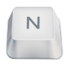 Letter-uppercase-N icon