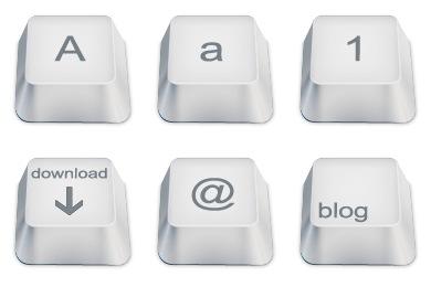 Keyboard Keys Icons