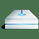 Hdd bleu icon