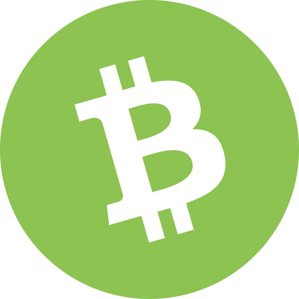 Bitcoin Cash BCH Icon | Cryptocurrency Flat Iconset | Christopher Downer