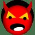 Satan-devil icon