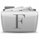 Font Collections icon