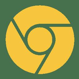 Internet chrome canary icon