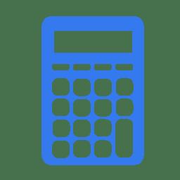 Utilities calculator icon