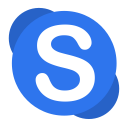Communication-skype icon