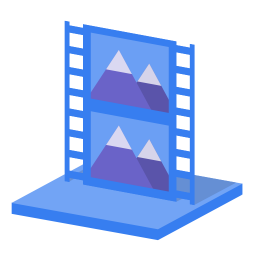 System library videos icon